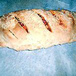 recette Fougasse au fruit de mer a l'espagnol