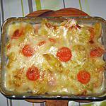 recette Gratin aux légumes, sauce au fromage