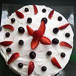 recette Gâteau aux fraises (pour Pâques)