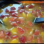 recette Le punch fraise peche