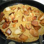 recette Omelette de mon cheri au pomme de terre et épices
