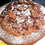 recette Gateau chocolat bananes - Maulwurfkuchen