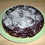 recette gateau chocolat / noix de coco