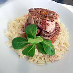 recette Sushis de lard a la viande