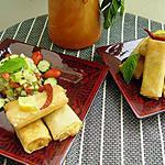 recette Briouiettes à la viande et aux haricots blancs