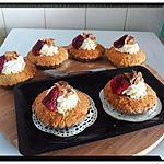 recette tartelettes gourmandines fraises et chocolat blanc