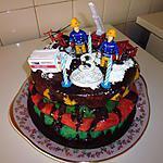 recette Gâteau d'anniversaire de Ian (3ans)