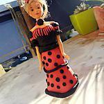 recette Barbie Princesse Espagnol en pate à sucre