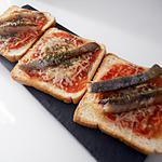 recette Toasts au hareng fumé