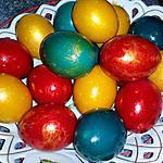 recette L'œuf de Pâques orthodoxe