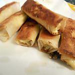 recette Roulé crabe kirri curry