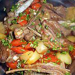 recette Ragout d agneau navets,carottes,pommes de terre