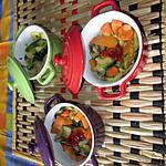 recette cassolettes  légumes
