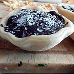 recette Tartelette chocolat-pomme