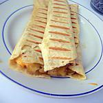 recette Wraps au poisson pané