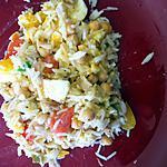 recette Salade de riz compose