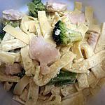 recette pates au poulet et brocolis