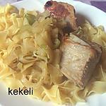 recette Sauté de veau au fenouil et à l'ananas
