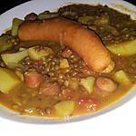 recette Ragoût de Lentilles au curry