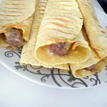 recette Wraps aux steaks hachés