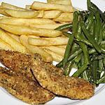 recette Blancs de poulet en croûte d'herbes