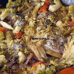 recette Hachis de porc au porto/brocolis/légumes