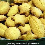 recette Petits biscuits à la noix de coco