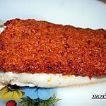 recette dos de cabillaud en croûte de chorizo