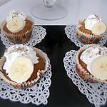 recette Cupcakes bananes pepites de chocolat