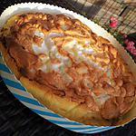 recette Tarte au citron-lait concentré meringué