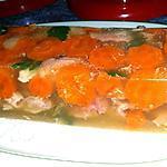 recette Viande en gelée ou Aspic de porc et poulet