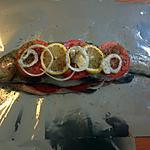 recette Truite saumonée en papillote
