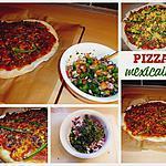 recette Pizza Mexicaine