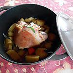 recette Jarret de porc et ses petits légumes