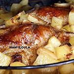 recette Cuisses d'oie (ou de canard) caramélisées et aux kiwis