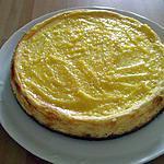 recette Mon cheesecake au citron et lemon curd,premier essai...