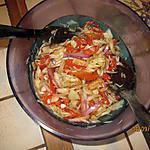 recette Morue en salade de poivrons et pois-chiches