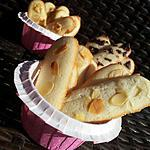 recette Assortiments de Langue de chat (Pour les Parents)Citron-amandes Eclats de Nougat Pépites de chocolat