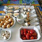 recette plateau  apéritif  ;avec    une recette revisitée  de lili marti