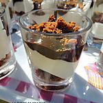 recette Verrine chocolat mascarpone