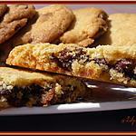 recette Cookies fourrés au chocolat