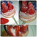 recette Oreilles de Lapin en Fraise Gariguette