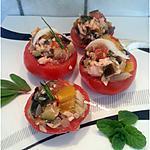 recette Tomates farcies aux légumes et poisson