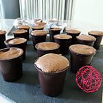 recette Verrine en chocolat et mousse chocolat