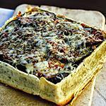 recette Tarte à l'aubergine