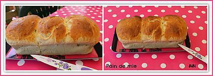 recette de pain de mie par brigitte n. Black Bedroom Furniture Sets. Home Design Ideas