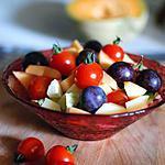 recette La salade arc-en-ciel