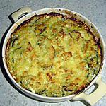 recette Gratin de courgettes au St Moret