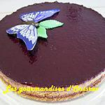 recette Cheese-cake chocolat, orange
