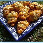 recette Minis croissants au délice de tomates séchées